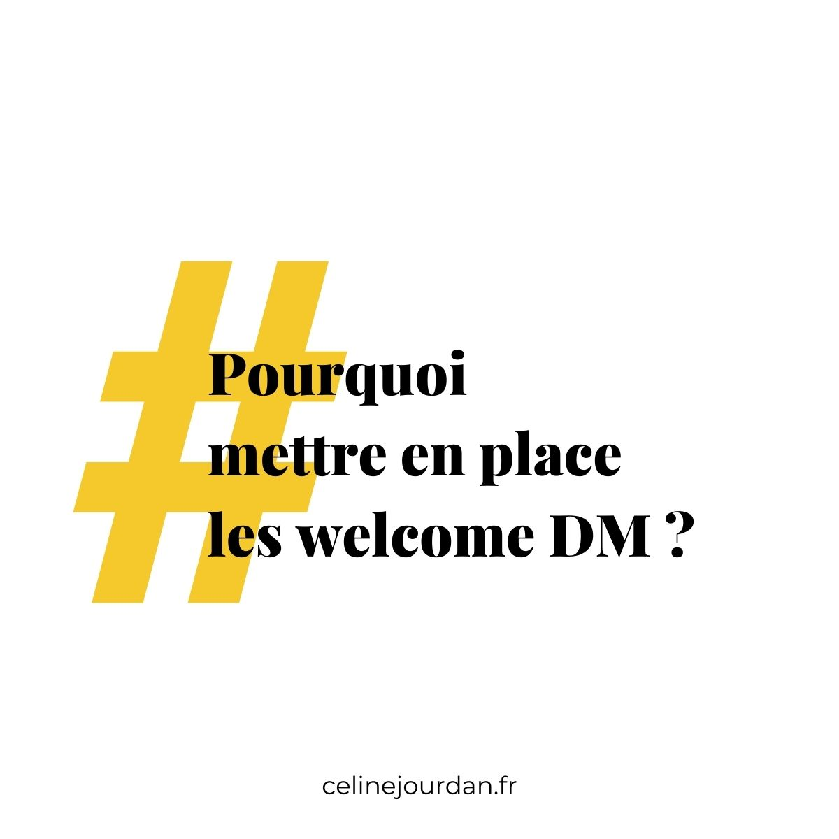 welcome dm